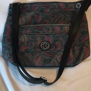 Relic cross body purse multi color